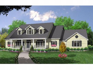 Country House Plan, 015H-0078