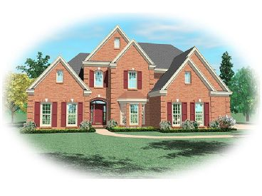 2-Story House Plan, 006H-0088
