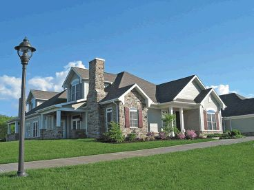 Multi family house plans triplexes townhouses the for Multi family home plans