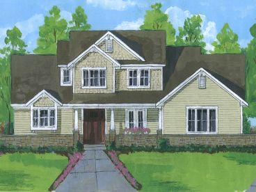 Two-Story House Plan, 046H-0101