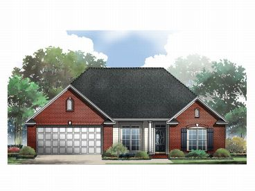 Ranch House Plan, 001H-0040