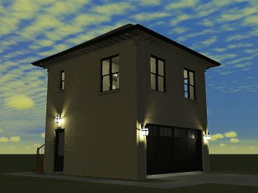 Garage Apartment Plan, 052G-0011
