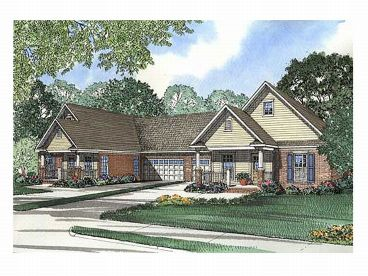 Multi-Family Home Plan, 025M-0022
