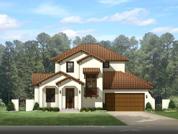 Sunbelt House Plan, 064H-0086
