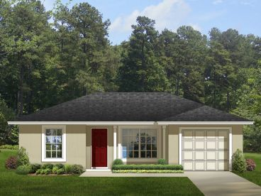 Small House Plan, 064H-0053