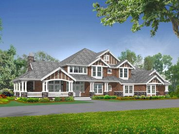 Luxury House Plan, 035H-0038