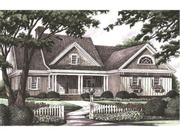 Country Home Plan, 063H-0047