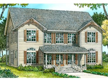 2-Story House Plan, 008H-0030