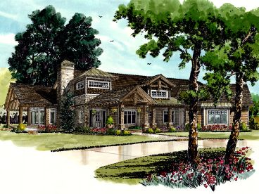 Mountain House Plan, 066H-0014
