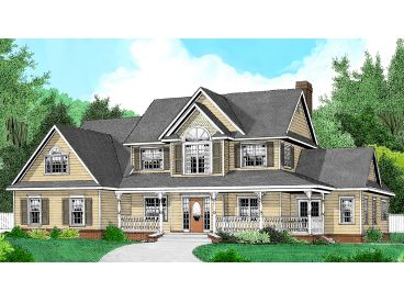 Country House Plan, 044H-0028
