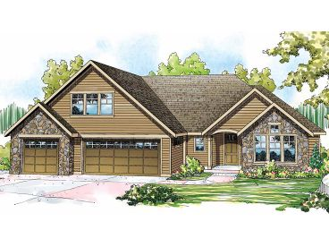 Traditional Home Design, 051H-0192