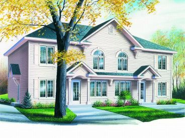 Multi-Family Home Plan, 027M-0024