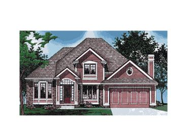 Traditional House Plan, 031H-0152
