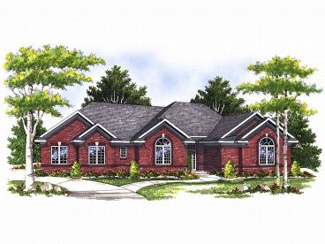 Traditional House Plan, 020H-0058
