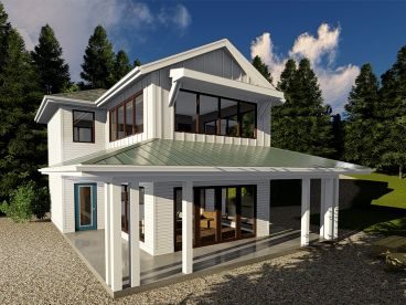 Vacation House Plan, 050H-0152