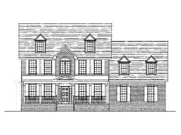 Two-Story House Design, 058H-0021