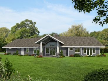 Ranch House Plan, 012H-0265
