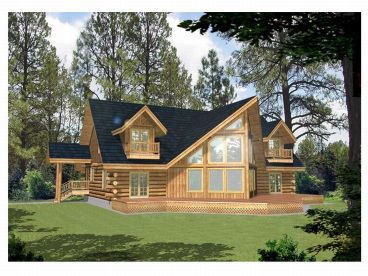 Waterfront Home, Rear, 012L-0030