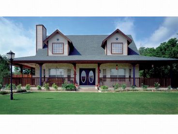 Country House Plan Photo, 036H-0003