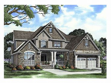European House Plan, 025H-0138
