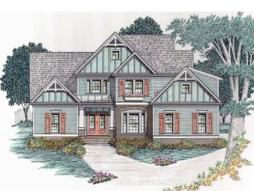 European House Plan, 045H-0059