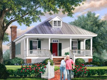 Narrow Lot Home Plan, 063H-0214