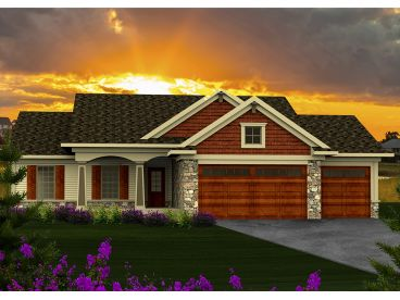 Affordable Home Plan, 020H-0340