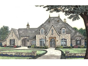 Luxury Home Plan, 002H-0091