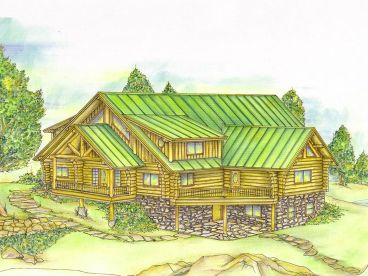 Mountain Home Plan, 012L-0057
