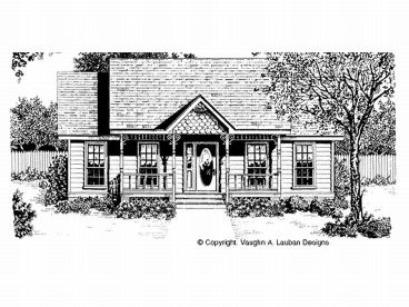 Vacation House Plan, 004H-0001