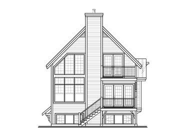 Chalet House Plans Narrow Lot