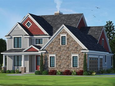 Family House Plan, 031H-0285