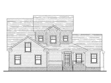 Two-Story House Plan, 058H-0035