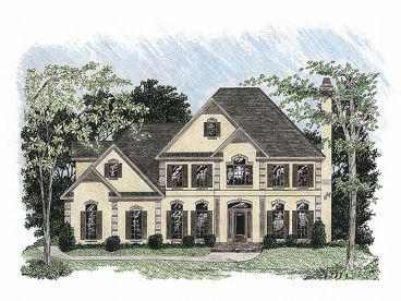 Sunbelt Home Design, 007H-0088