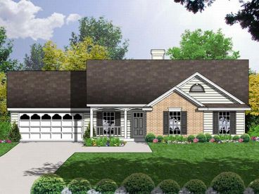 Traditional House Plan, 015H-0007