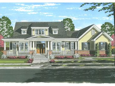 Country House Plan, 046H-0134