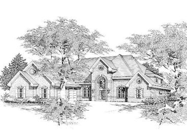 2-Story Luxury Home, 061H-0127