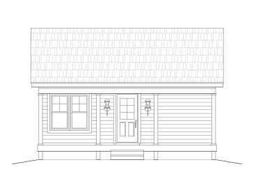 Love Shack Home Plan, 062H-0039