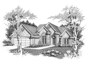 Ranch House Design, 061H-0076