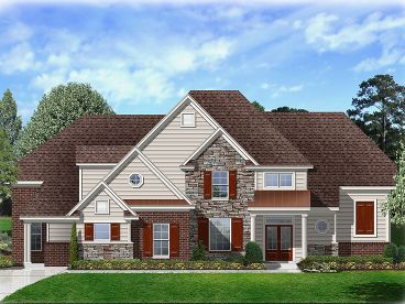 Luxury House Plan, 061H-0187