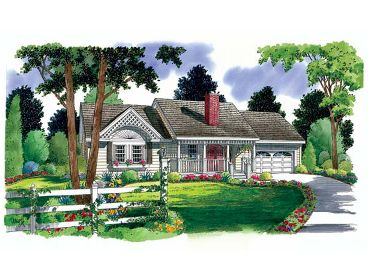 Small Ranch House Plan, 047H-0029