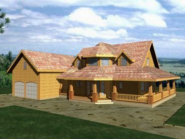 Country House Plan, 012H-0151