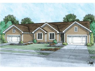 Multi-Family Home Plan, 031M-0046