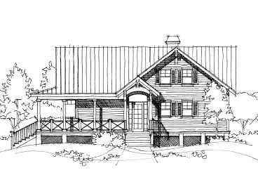 Country House Plan, 052H-0051