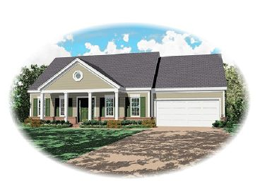 Affordable Home Design, 006H-0016