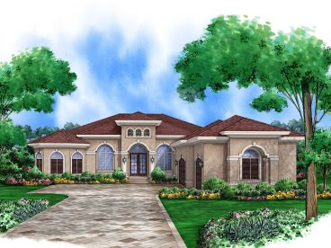 Sunbelt House Plan, 070H-0001