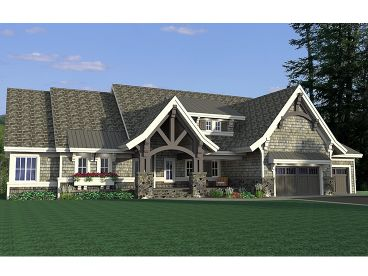 Waterfront Home Plan, 023H-0175