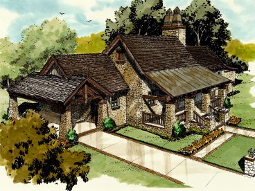 Craftsman House Plan, 066H-0022