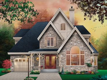 European Home Plan, 027H-0070