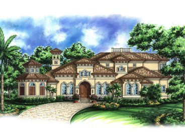 Two-Story Home Design, 037H-0065